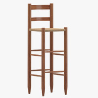 stool 05 3d max