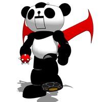 panda z obj