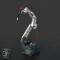 3d industrial robot panasonic