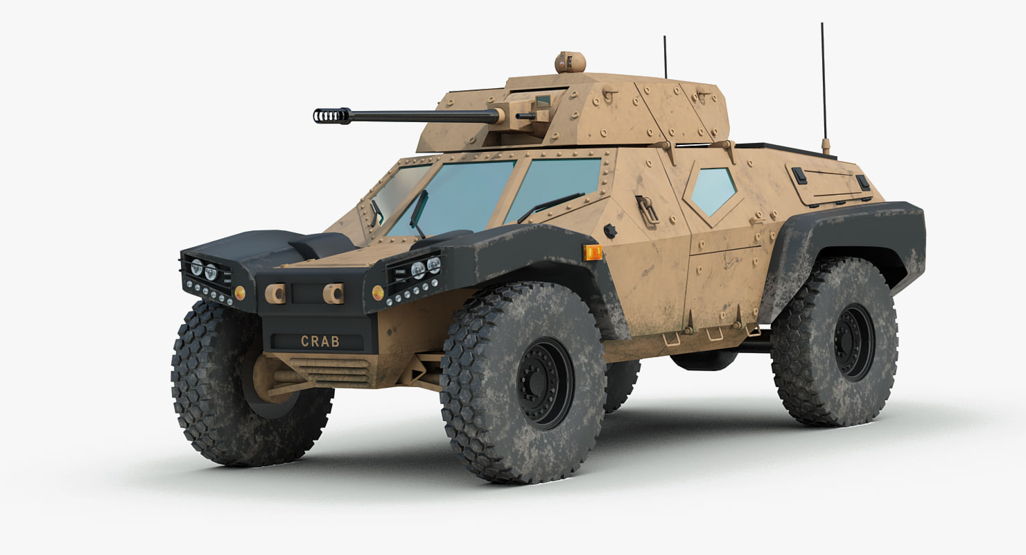 Armored Vehicles For Sale >> panhard crab scout car 3d 3ds
