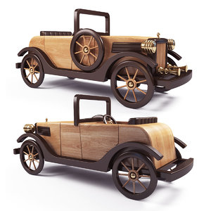 max wooden car