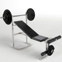 Gym Equipment - Bench Weight