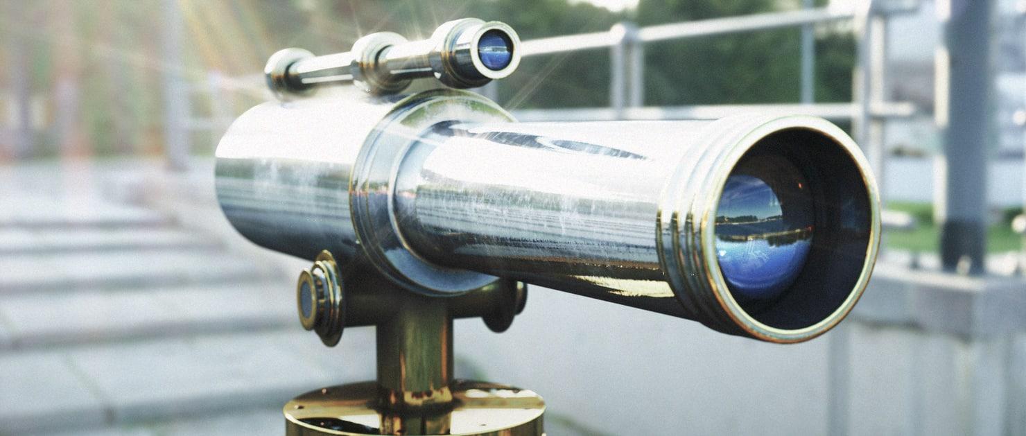 3d telescope scope model