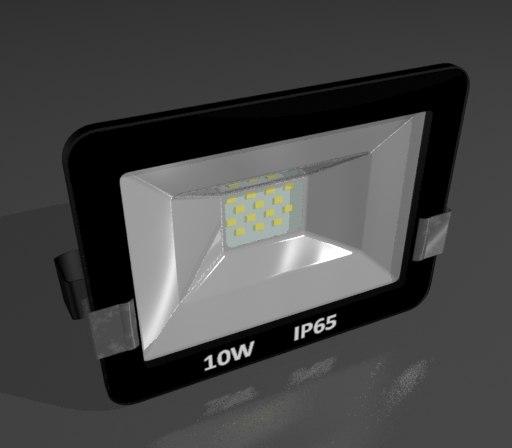 floodlight 3d max