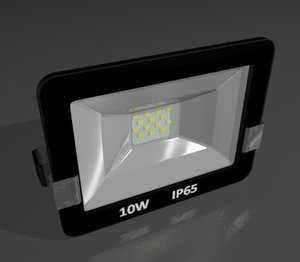 floodlight 3d max