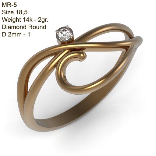 stl jewelry 3dm