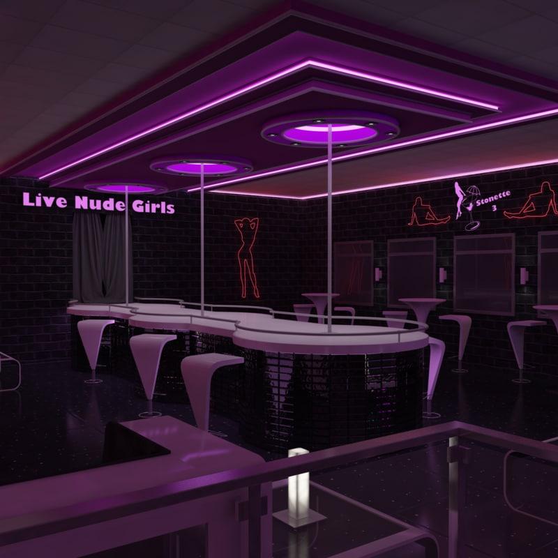 nightclub lighting 3ds