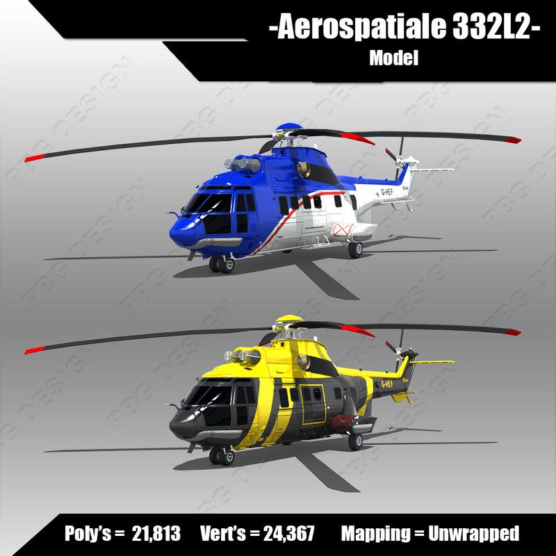 3d model aerospatiale