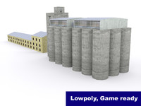 Silo industiral building