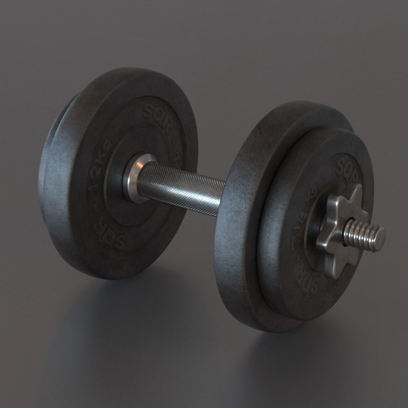 max dumbbell weights