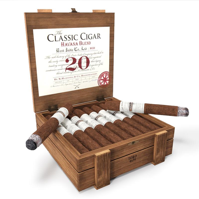 3d cigar classic east model