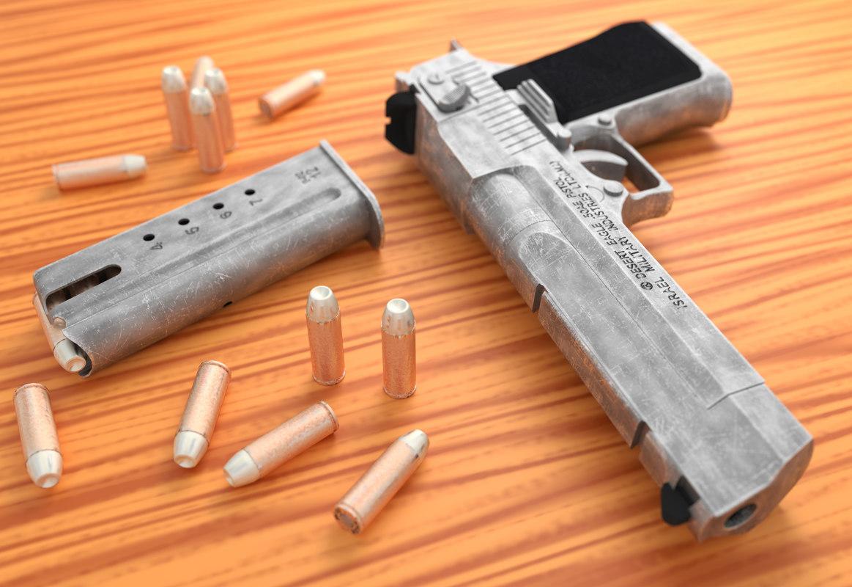 fbx desert eagle pistol