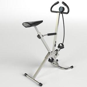 cyclette stationary bike gym 3ds