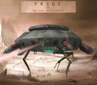 probe probe1 3d model
