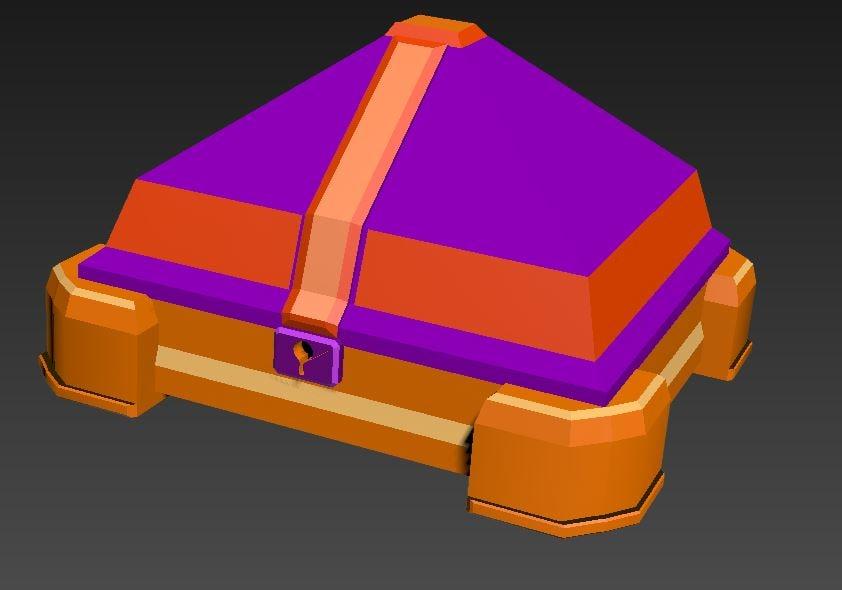 3d model of bau games rpg
