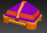 3d model of bau games rpg