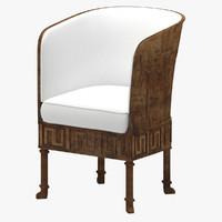 3d model chair 84
