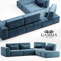 max gamma soho sofa
