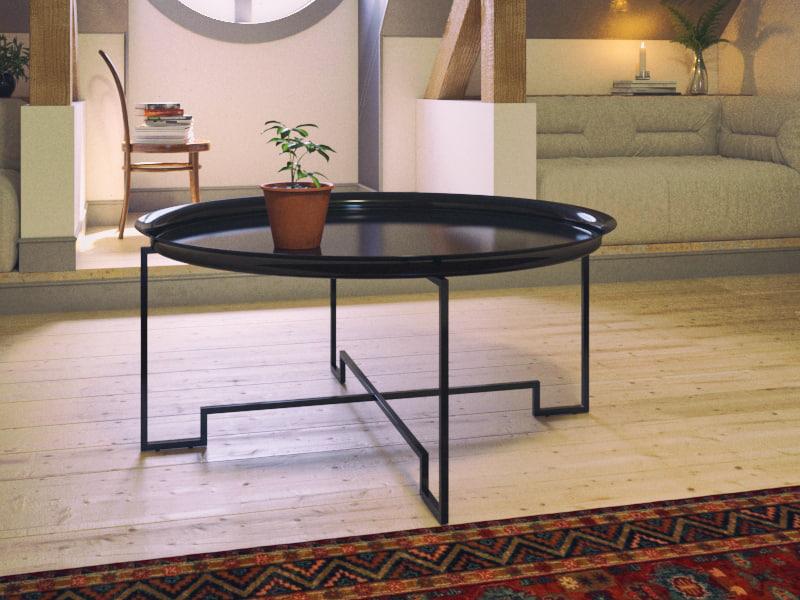 3d oberg soffbord table