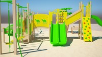 playground ground play 3d max