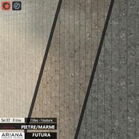3d model tile ariana futura set