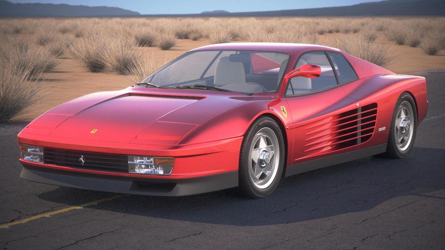 Ferrari Testarossa Bing Images