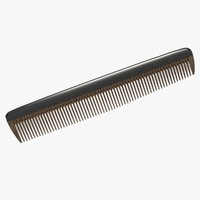 3d max hairbrush hair brush