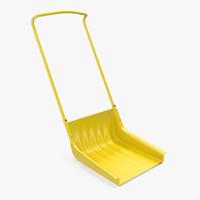 Snow Scoop Shovel 3D Model