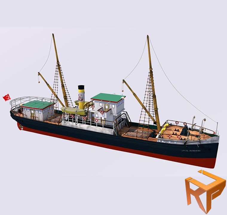 3d ss ship