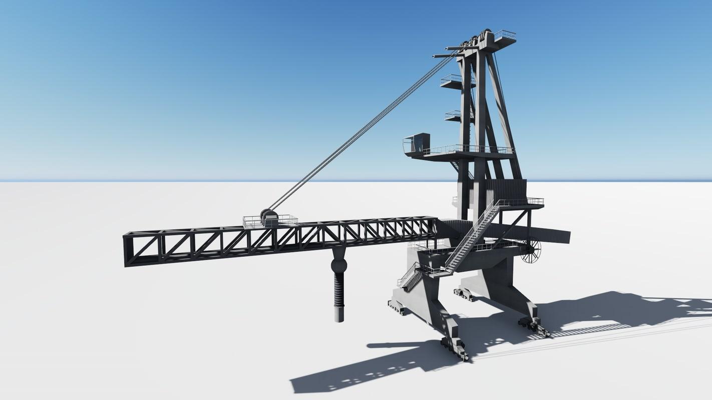 port crane shiploader max
