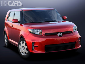 scion xb 3d fbx