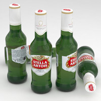 max beer bottle stella artois