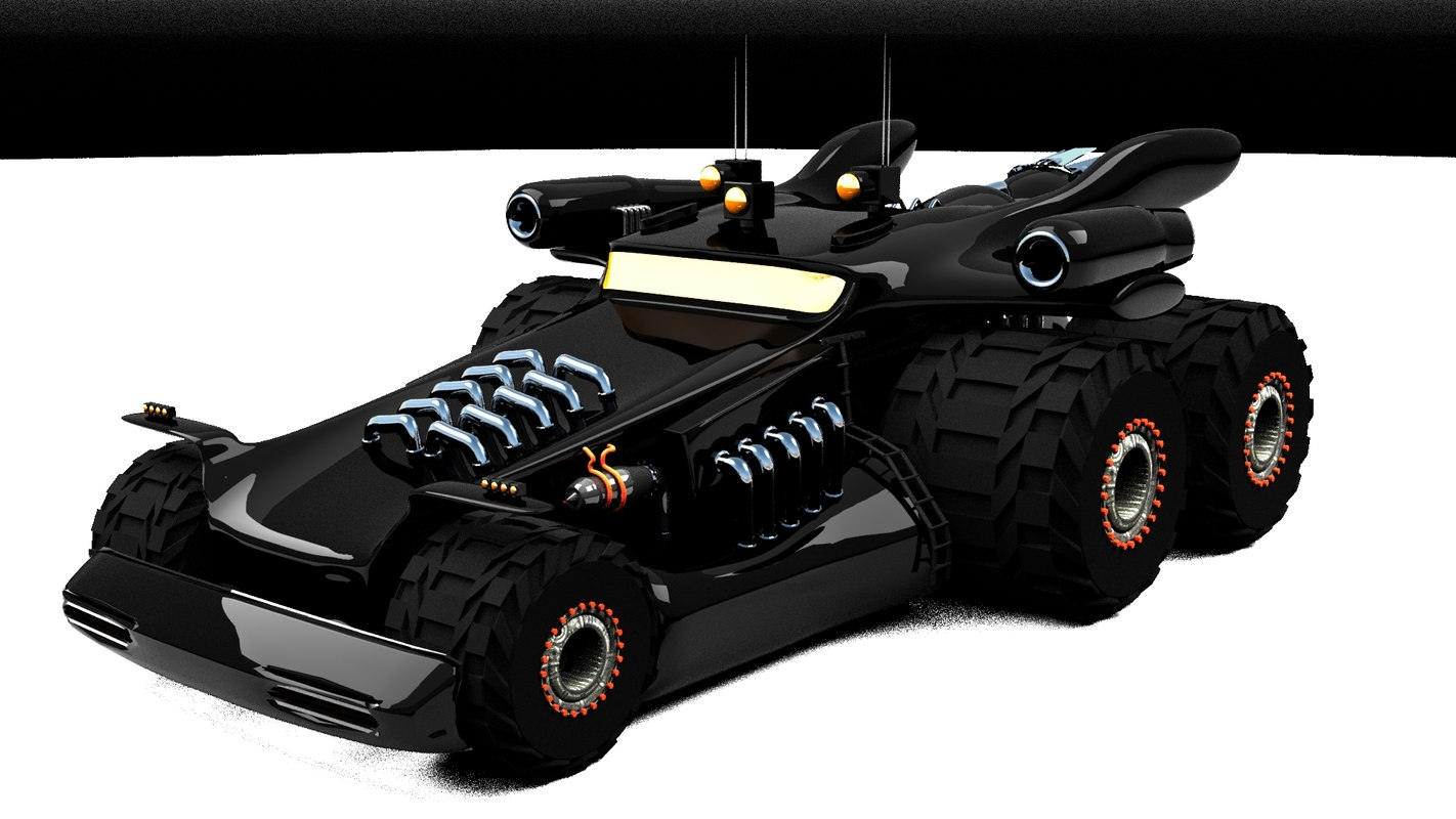 space truck 3d max