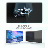 Sony W75C Full HD with Android TV 50 ""