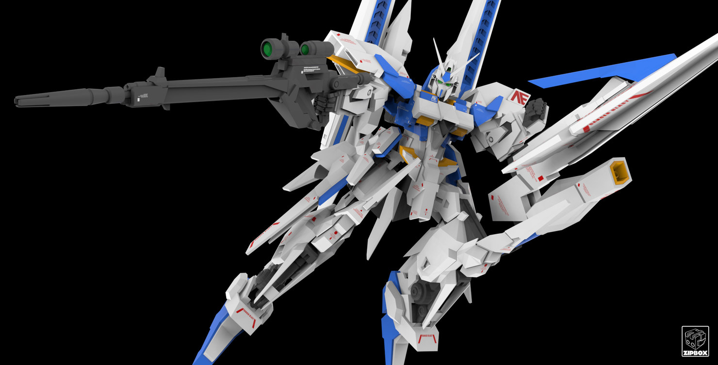 3d Model Msn-001x Gundam Delta Kai