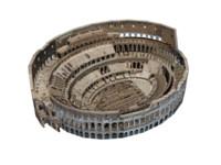 3d anfiteatro flavio colosseo roma model