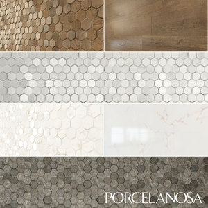 3d model tiles porcelanosa forest chelsea