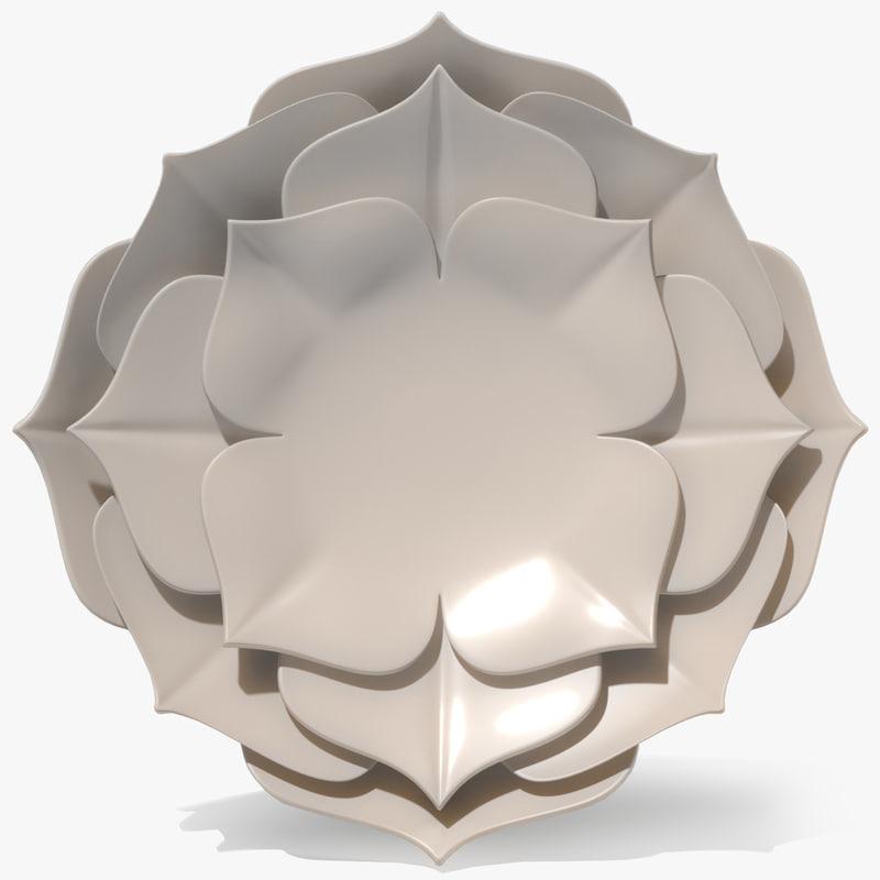 ornament leaves 3d model