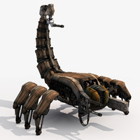 scorpitron 2 - wasteland 3d model