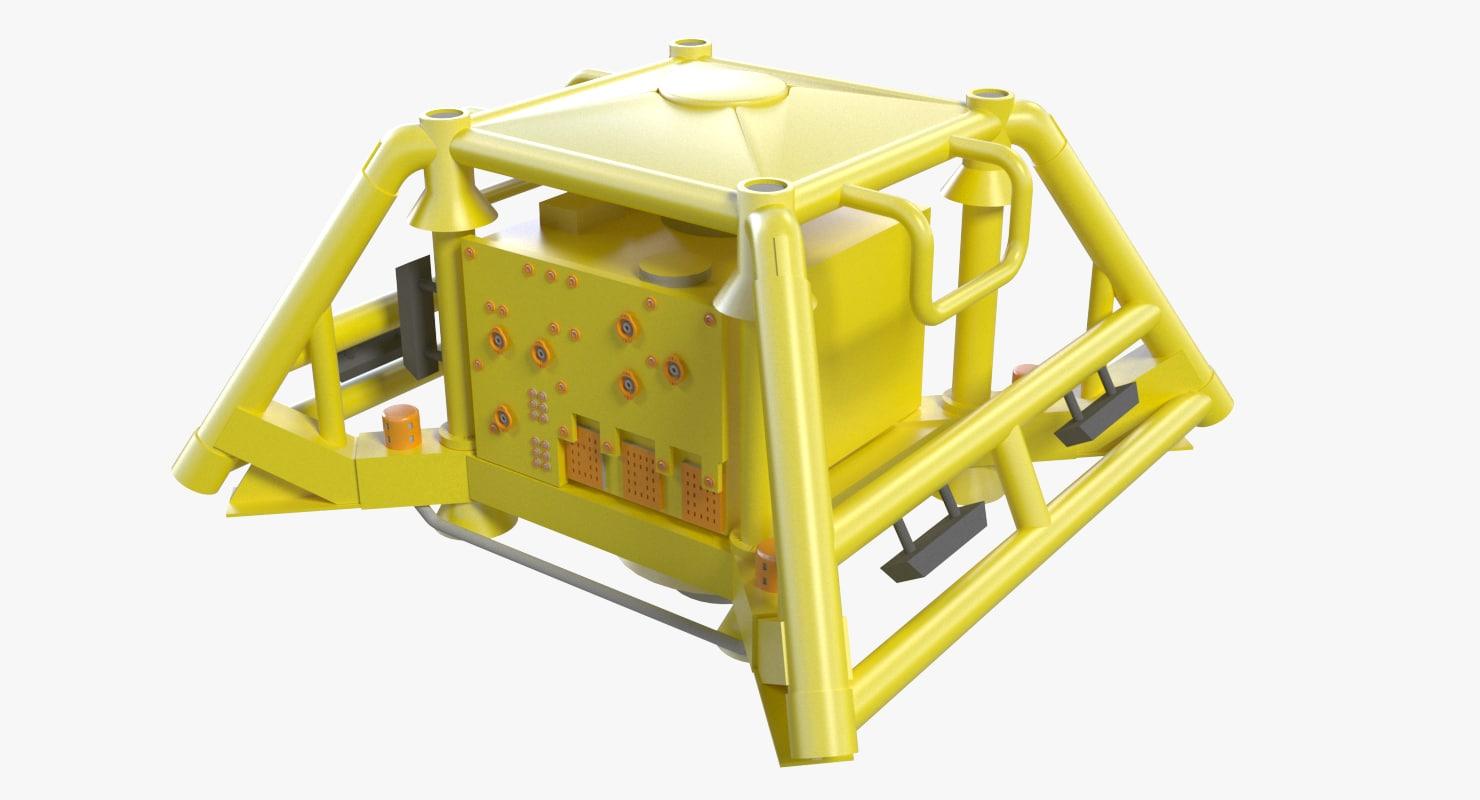 medium subsea mhxt 3d max