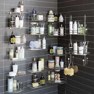 3d max shelves decor