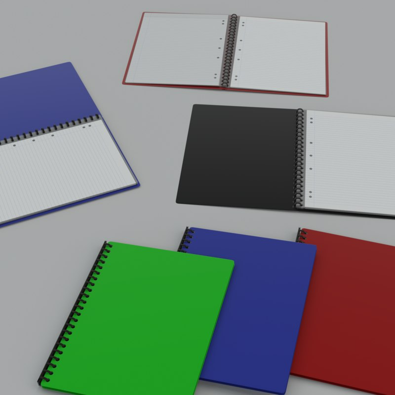 display folder 3d obj