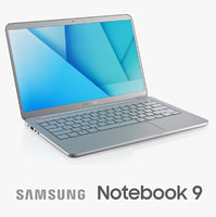 3d samsung notebook 9 2017 model