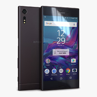 3d model sony xperia xz mineral