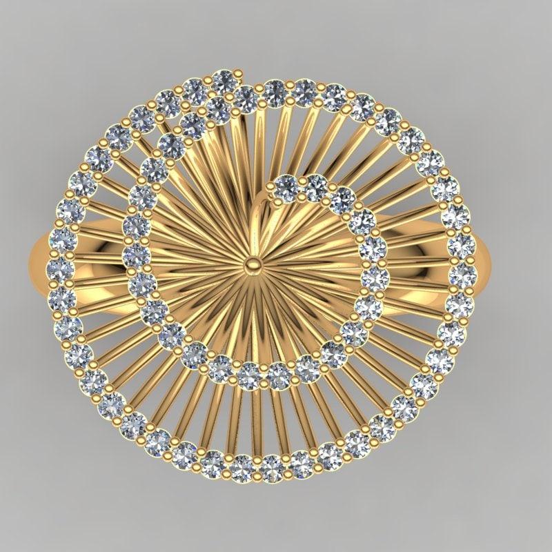 designer ring 3ds