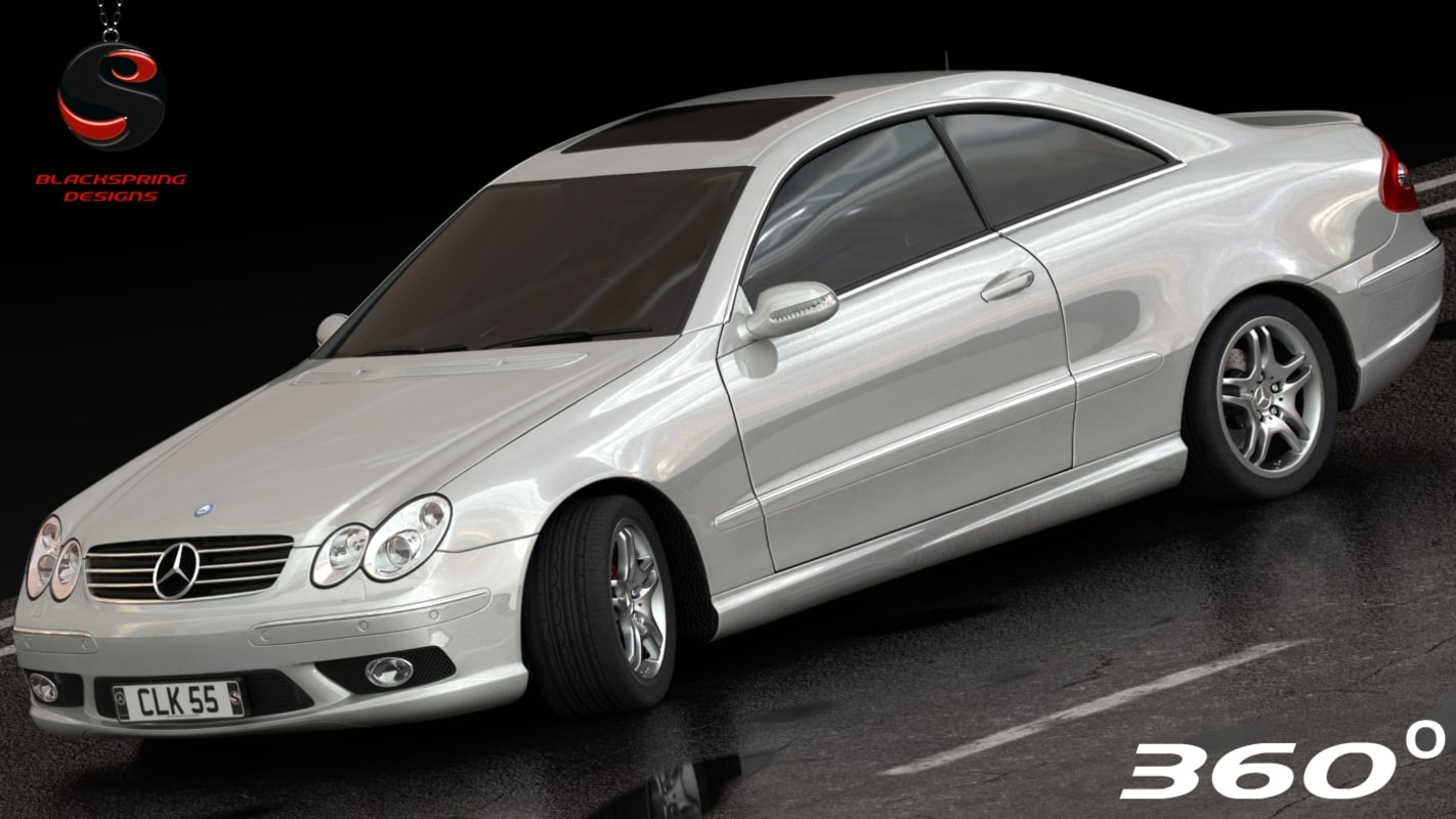 Mercedes benz clk55 coupe amg dwg for Mercedes benz clk55 amg