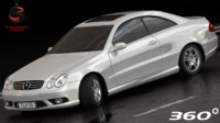 mercedes-benz clk55 coupe amg dwg