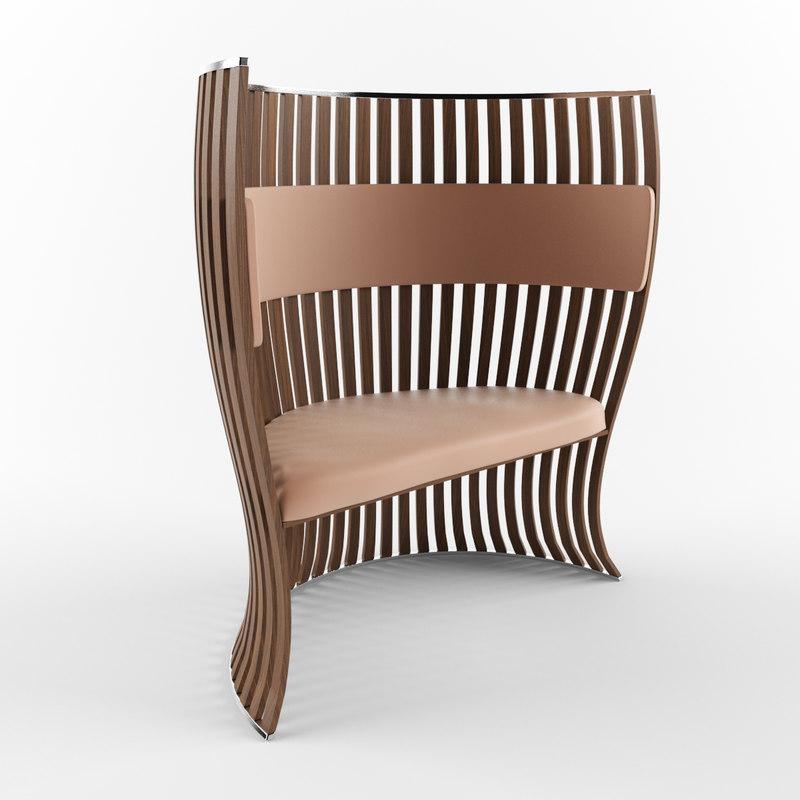 fauteuil 3d model
