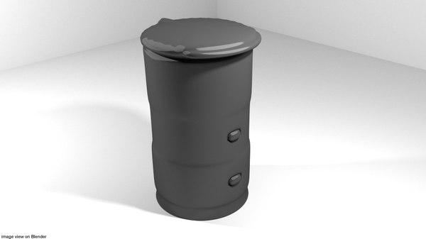 loader paint paintball 3d model