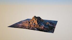 c4d landscape render octane